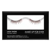 MAKE UP FOR EVER Lash Show - N-306 Instant Drama False Lashes & False Lashes Glue - Natural Impact