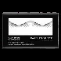 MAKE UP FOR EVER Lash Show - N-401 Instant Drama False Lashes & False Lashes Glue - Natural Impact