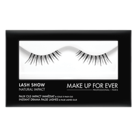 MAKE UP FOR EVER Lash Show - N-405 Instant Drama False Lashes & False Lashes Glue - Natural Impact