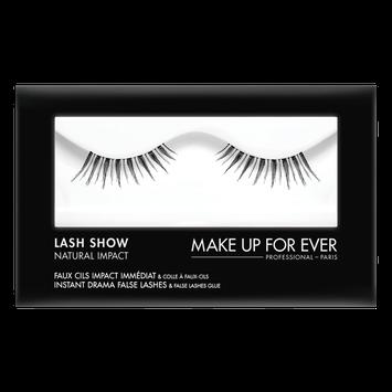 MAKE UP FOR EVER Lash Show - N-405 Instant Drama False Lashes & False Lashes Glue - Natural Impact