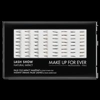 MAKE UP FOR EVER Lash Show - N-601 Instant Drama False Lashes & False Lashes Glue - Natural Impact