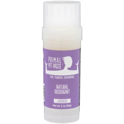 Primal Pit Paste™ Lavender Natural Deodorant Stick