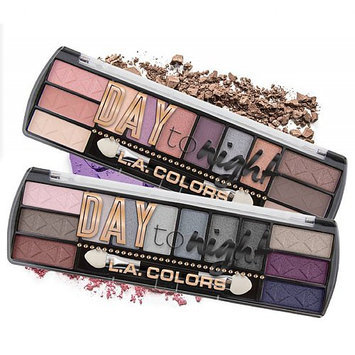 L.A. Colors Day To Night Eyeshadow Palette