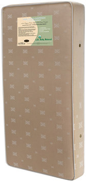 La Baby L.A. Baby Organic Cotton 2-in-1 Orthopedic Mattress