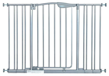 La Baby Tall Metal Auto Close Safety Gate with 4 Extension