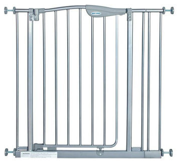 La Baby Tall Metal Auto Close Safety Gate with 1 Extension