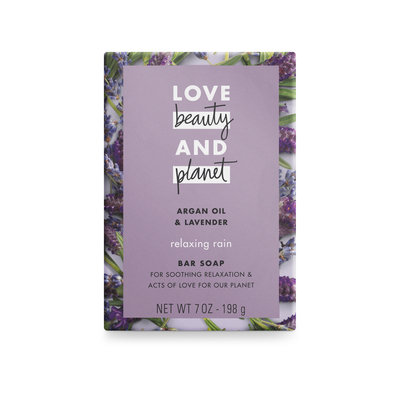 Love Beauty and Planet Argan Oil & Lavender Bar Soap