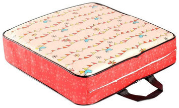 Luv Chicken Pink Party Print Booster Seat