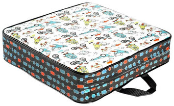Luv Chicken Recess Print Booster Seat
