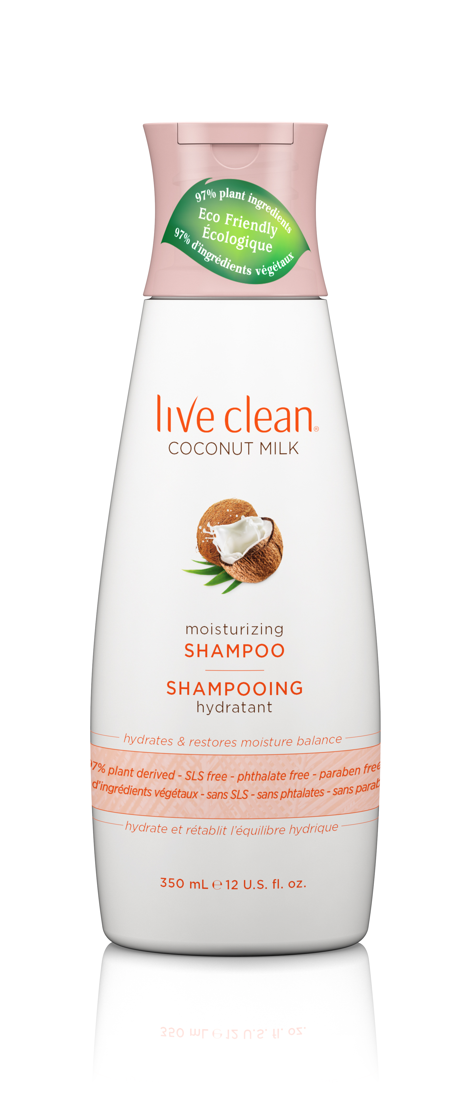 Live Clean® Coconut Milk Moisturizing Shampoo