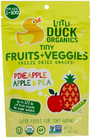 Little Duck Organics Pineapple, Apple & Pea Tiny Fruits + Veggies
