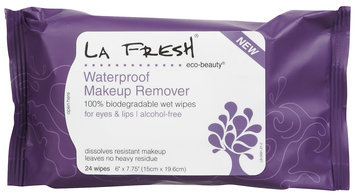 La Fresh Makeup Remover, Waterproof, 24 wipes