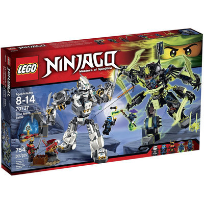 LEGO Ninjago Titan Mech Battle 70737