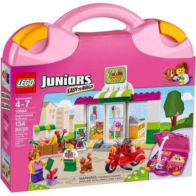 LEGO Juniors Supermarket Suitcase - 10684 - 1 ct.