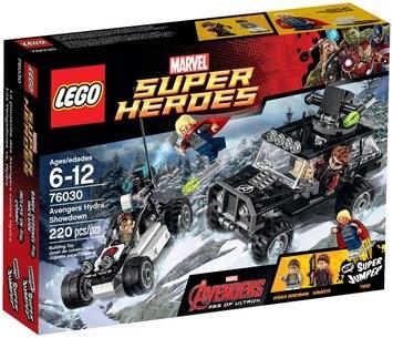 Lego System As Marvel Super Heroes Avengers Hydra Showdown set