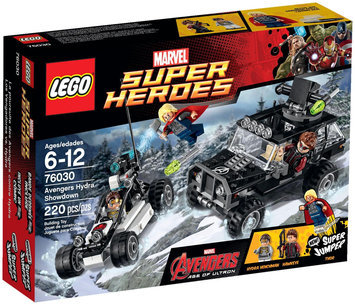 Lego System As Marvel Super Heroes Avengers Hydra Showdown set