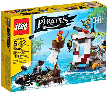 Lego System As Pirates Soldiers Outpost