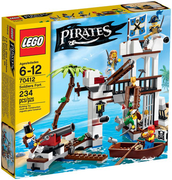 Lego System As Pirates Soldiers Fort