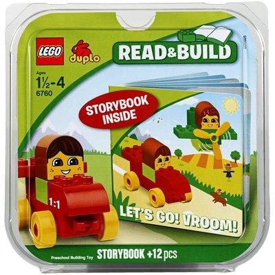 LEGO Duplo Read & Build Let's Go! Vroom! 6760 (12 pcs)