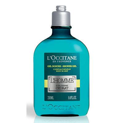 L'Occitane L'Homme Cologne Cedrat Shower Gel Body & Hair