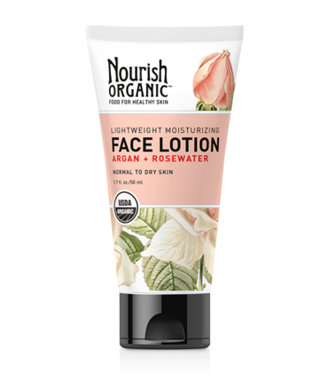 Nourish Organic™ Lightweight Moisturizing Face Lotion