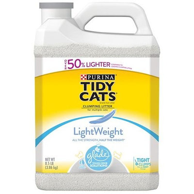 Tidy Cats Clumping Lightweight With Glade® Tough Odor Solutions Clear Springs® Cat Litter