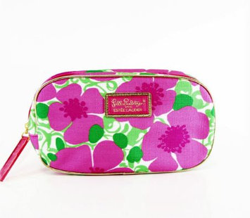 2014 Lilly Pulitzer Rare Large Waterproof Cosmetic Bag