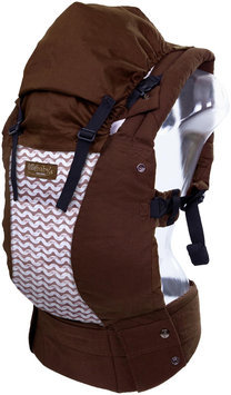 Lillebaby Complete Baby Carrier Organic Designer Cotton In Toffee With Waves