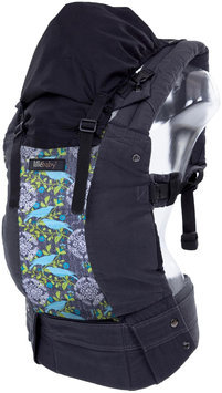 Lillebaby Complete Original Designer Baby Carrier 100% Cotton In Charcoal-Finch