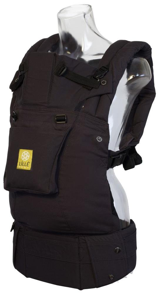 Lillebaby Carrier Original Black with Pocket by Lillebaby