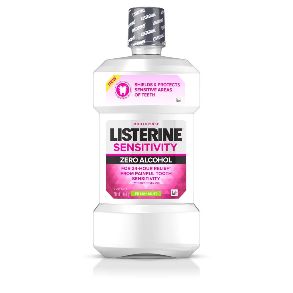 LISTERINE® SENSITIVITY Zero Alcohol Mouthrinse