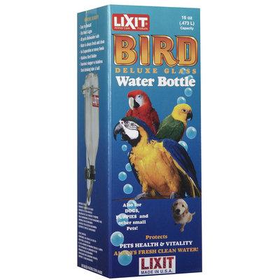 Lixit Glass Bird Bottle - Medium