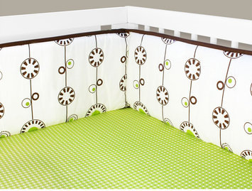Olli & Lime George Crib Bumper - 1 ct.