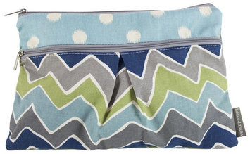 Logan & Lenora Zoom Wet & Dry Diaper Clutch - 1 ct.