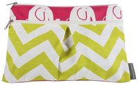 Logan & Lenora Wet & Dry Diaper Clutch - Pink Eli - 1 ct.