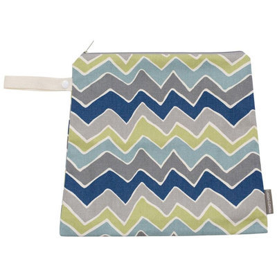 Logan & Lenora Zoom Mini Wet Bag - Zig Zag - 1 ct.