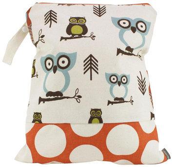 Logan & Lenora Classic Wet Bag - Earthy Owls - 1 ct.