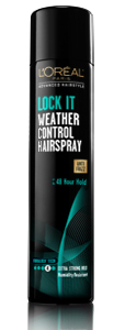 L'Oréal Paris Advanced Hairstyle LOCK IT Weather Control Hairspray