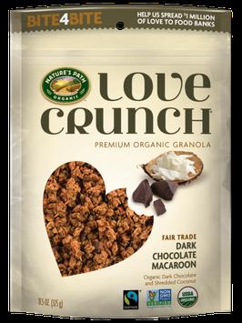 Nature's Path Love Crunch Dark Chocolate Macaroon Organic Granola