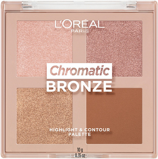 L'Oréal Paris Chromatic Bronze Highlight and Contour Palette