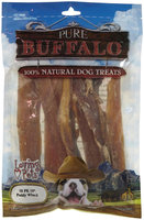 Phillips Feed & Pet Supply Pure Buffalo Backstrap - 10 in./10 ct.
