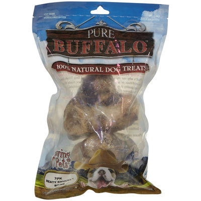 Loving Pets Loving Pet Pure Buffalo Femur Knuckles 2 Pack 5652