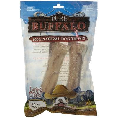 Loving Pets Loving Pet Pure Buffalo Femur Bones 7-9 Inch-2 Pack 5651