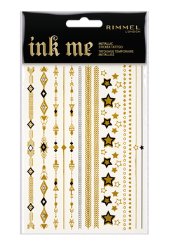 Rimmel London Ink Me Metallic Sticker Tattoo