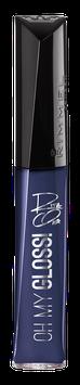 Rimmel London Shades of Black Oh My Gloss! Lip Gloss by Rita Ora
