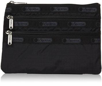 LeSportsac 3-Zip Cosmetic - Black