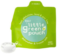 Little Green Pouch Reusable Food Pouch - 6 Pk - 6 ct