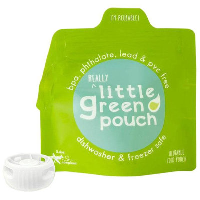 Little Green Pouch Reusable Food Pouch - 6 Pk - 6 ct