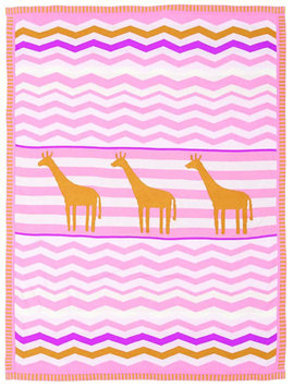 Living Textiles Lolli Living Blankets - Giraffe - 1 ct.