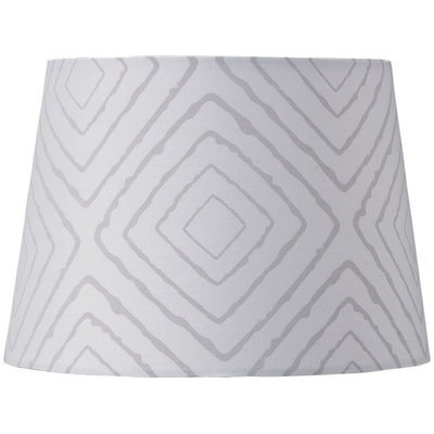 Lolli Living Lamp Shade - Grey Maze